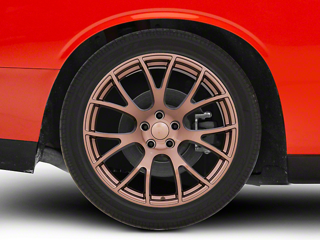 Hellcat Style Copper Wheel; 20x9 (08-20 All, Excluding Demon & Hellcat)