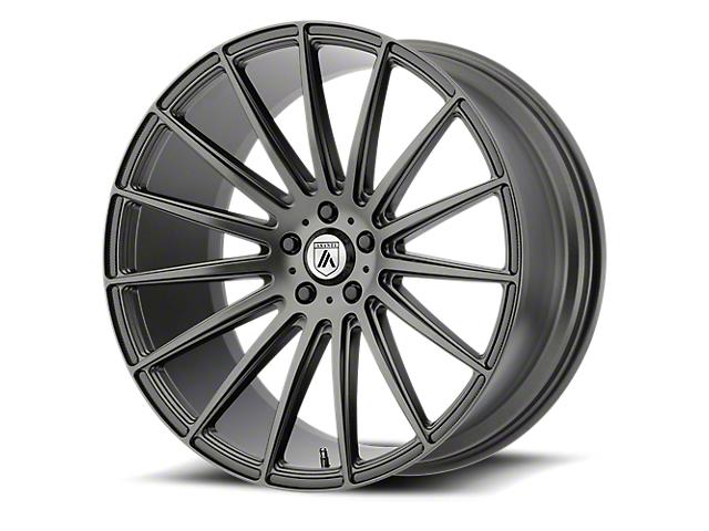 Asanti Polaris Matte Graphite Wheel; 20x9 (08-20 All, Excluding AWD)