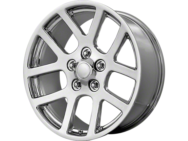 Viper Style Chrome Wheel; 20x9 (08-20 All, Excluding Demon & Hellcat)