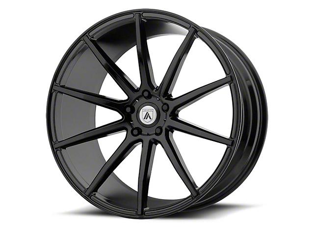Asanti Aries Gloss Black Wheel; Rear Only; 20x10 (08-21 All, Excluding AWD, Demon & Hellcat)