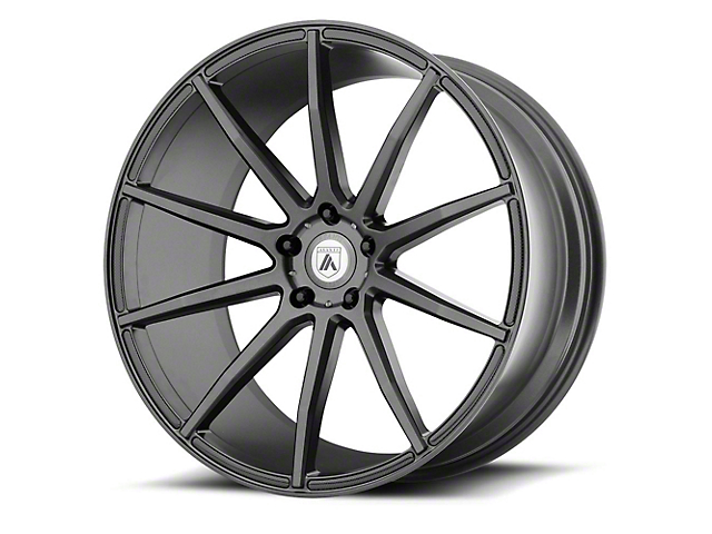 Asanti Aries Matte Graphite Wheel; Rear Only; 20x10 (08-20 All, Excluding AWD, Demon & Hellcat)
