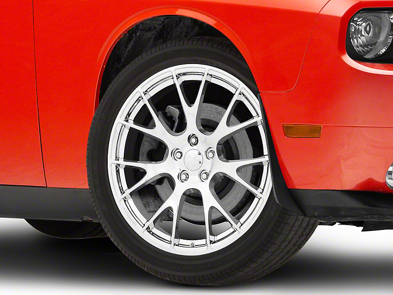 Hellcat Style Chrome Wheel; 20x9 (08-20 All, Excluding AWD)