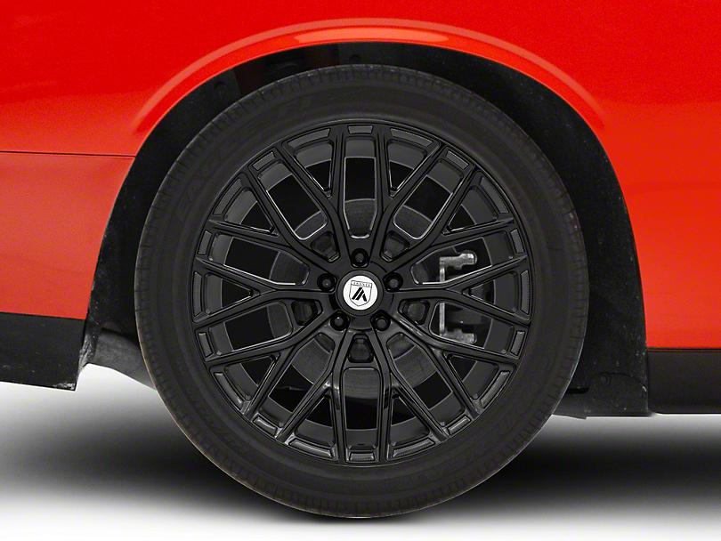 Asanti Leo Gloss Black Wheel; 20x9 (08-20 All, Excluding Demon & Hellcat)