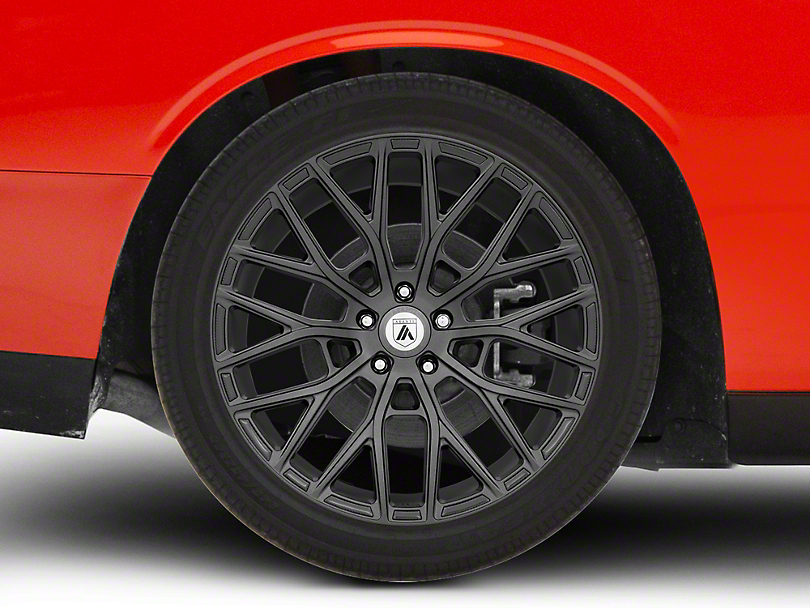 Asanti Leo Matte Graphite Wheel; 20x9 (08-20 All, Excluding Demon & Hellcat)