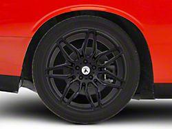 Asanti Sirius Gloss Black Wheel; Rear Only; 20x10.5 (08-20 All, Excluding AWD, Demon & Hellcat)