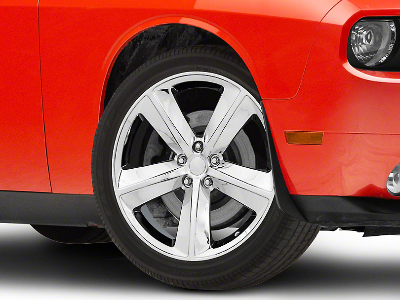 SRT8 Style Chrome Wheel; 20x9 (08-20 All, Excluding AWD)