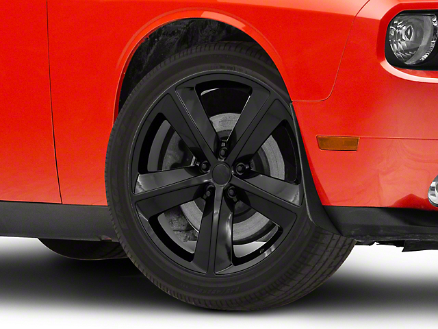 SRT8 Style Gloss Black Wheel; 20x9 (08-20 All, Excluding AWD)