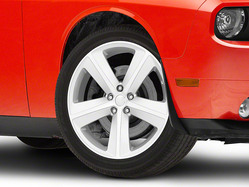 SRT8 Style Silver Wheel; 20x9 (08-20 All, Excluding AWD)
