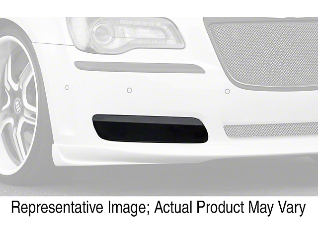 Fog Light Covers; Smoked (08-14 All)