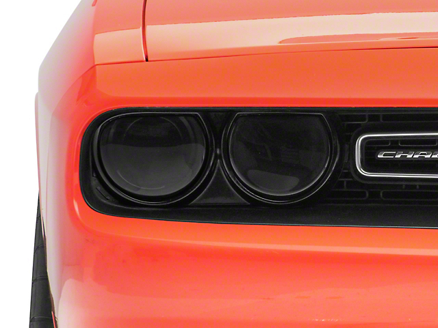 Headlight Covers; Smoked (15-20 All)