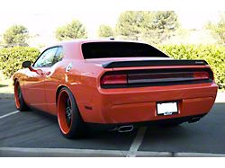 Rear Center Section Tail Light Cover; Smoked (08-14 All)