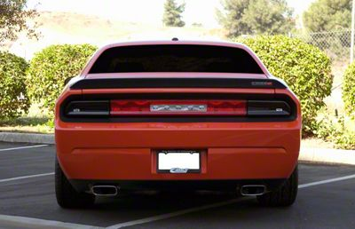 Challenger Tail Light Covers Smoked 08 14 All