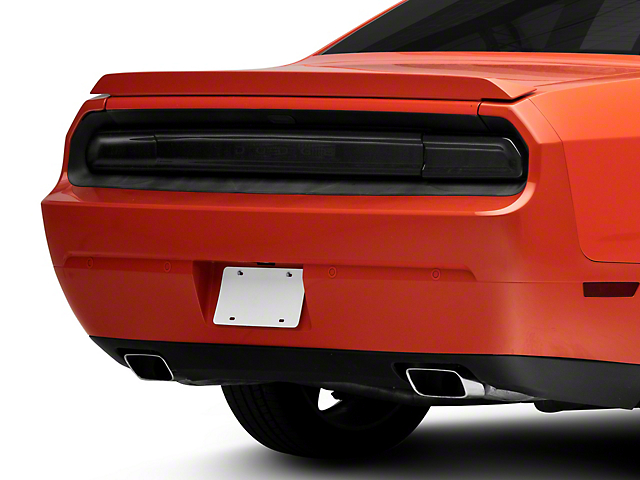 Tail Light Covers with Rear Center Section; Smoked (08-14 All)
