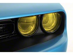 Headlight Covers; Transparent Yellow (15-21 All)