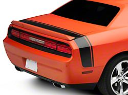 SEC10 Scat Pack Style Tail Stripe; Gloss Black (08-21 All)