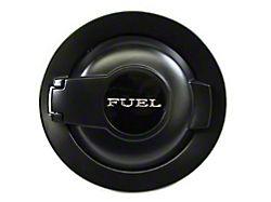 Mopar Fuel Door; Matte Black (08-21 All)