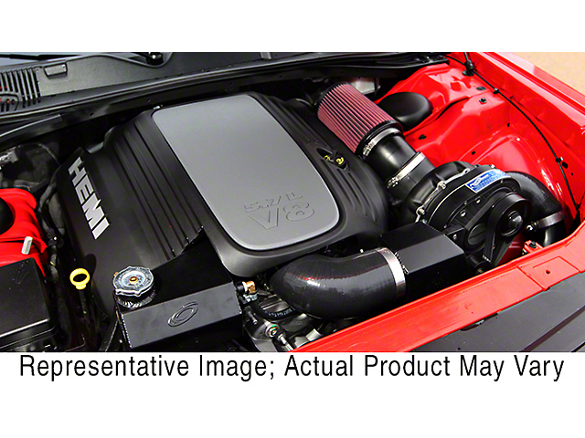 Procharger High Output Intercooled Supercharger Kit with P-1SC-1; Black Finish (15-20 5.7L HEMI)