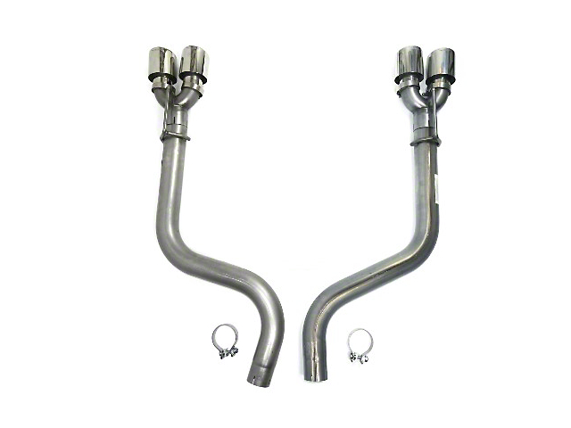 3-Inch Axle-Back Exhaust with Polished Tips (15-20 6.2L HEMI)