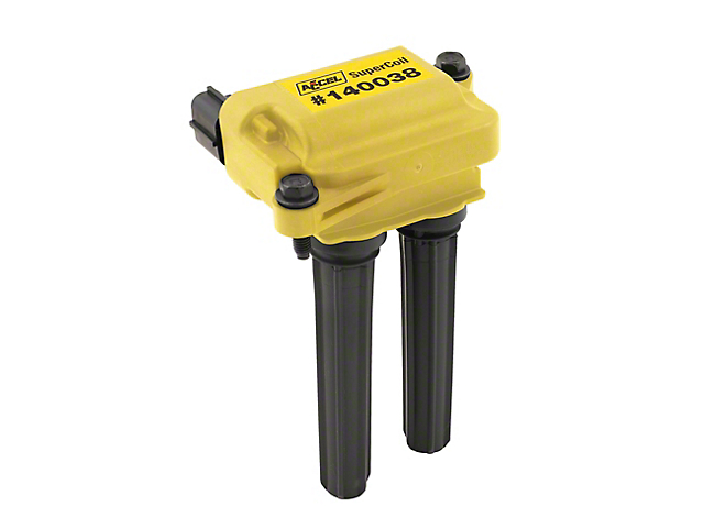 Accel SuperCoil Ignition Coil; Yellow (08-20 V8 HEMI)
