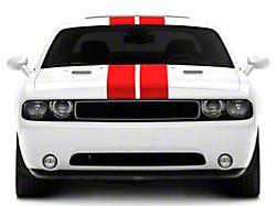 SEC10 Full Length Stripes; Red; 8.50-Inch (08-21 All)