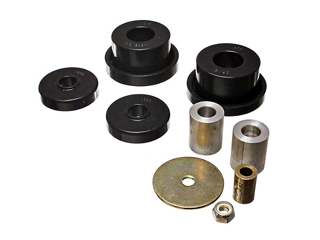 Differential Bushings; Black (06-14 All)
