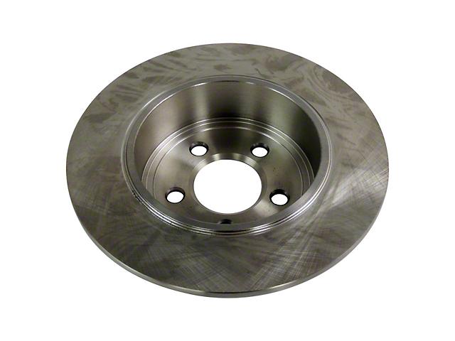 12.595-Inch Diameter Brake Rotor; Rear (09-10 All)