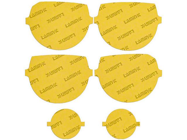 Lamin-X Headlight Tint Covers; Yellow (08-14 All)