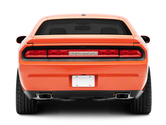 Rear Bumper Cover; Unpainted; Replacement Part (08-14 All)