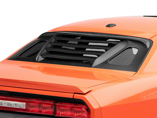 RS Style Rear Window Louvers (08-21 All)