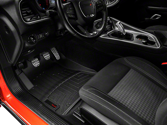 Weathertech DigitalFit Front and Rear Floor Liners; Black (15-21 All, Excluding AWD)