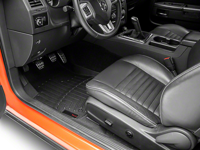 Weathertech DigitalFit Front and Rear Floor Liners; Black (11-14 All)