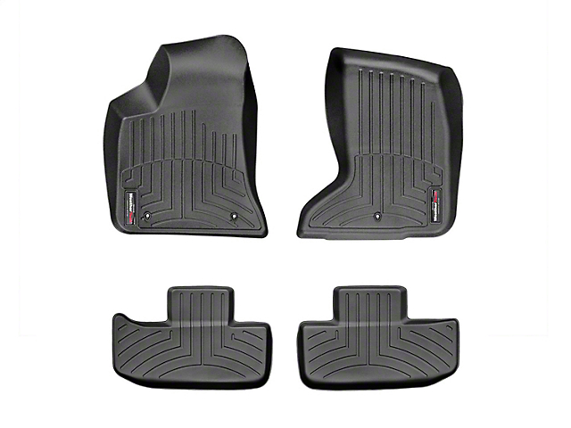Weathertech DigitalFit Front and Rear Floor Liners; Black (17-21 AWD)