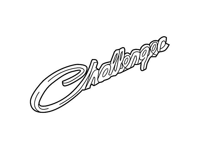 Mopar Classic Script Emblem