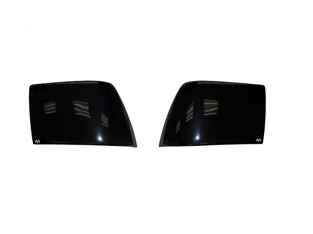Tail Shades Tail Light Covers; Smoked (15-21 All)