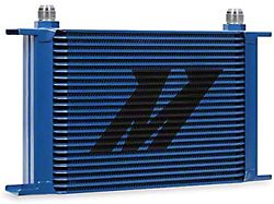 Mishimoto Universal 25-Row Oil Cooler; Blue (Universal; Some Adaptation May Be Required)
