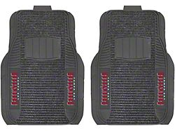 Molded Front Floor Mats with Tampa Bay Buccaneers Logo (Universal; Some Adaptation May Be Required)