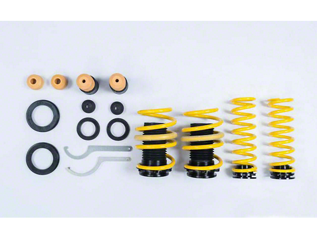 ST Suspension Adjustable Lowering Springs (11-21 RWD w/o Electronic Suspension)