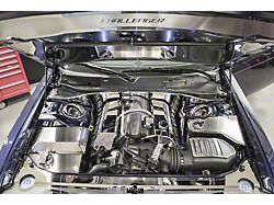 Polished Engine Harness Cover with Perforated Trim (11-14 6.4L HEMI)
