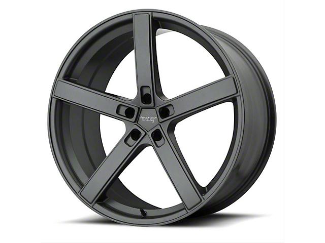 American Racing BLOCKHEAD Charcoal Wheel; 20x9 (08-21 All, Excluding AWD & Demon)