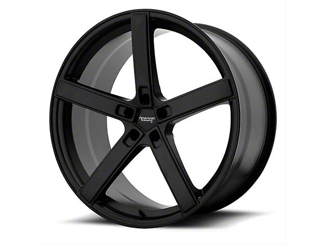 American Racing BLOCKHEAD Satin Black Wheel; 20x9 (08-21 All, Excluding AWD & Demon)