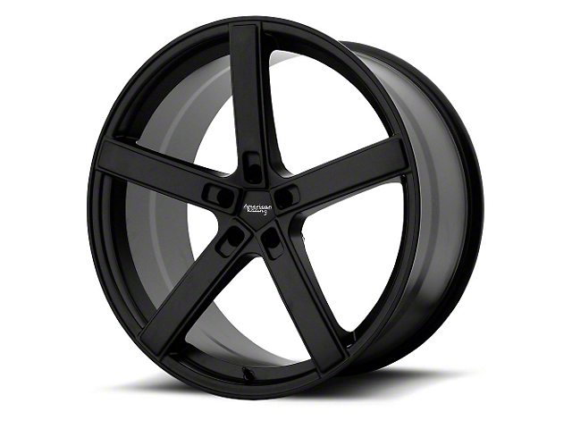 American Racing BLOCKHEAD Satin Black Wheel; 22x10.5 (08-21 All, Excluding AWD & Demon)