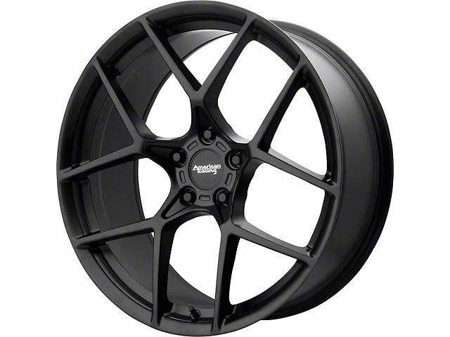 American Racing CROSSFIRE Satin Black Wheel; 20x9 (08-21 All, Excluding AWD & Demon)