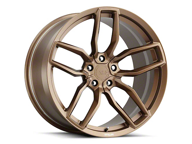 RSR R904 Bronze Wheel; Rear Only; 20x11 (08-21 All, Excluding AWD & Demon)