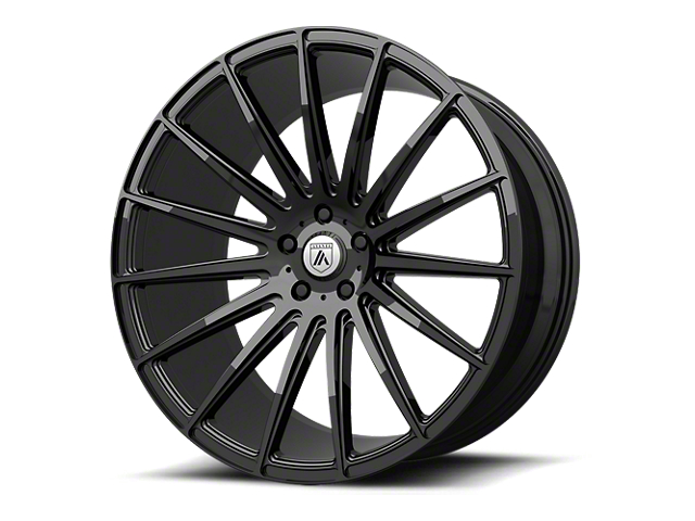 Asanti Polaris Gloss Black Wheel; 22x10.5; Rear Only (08-21 All, Excluding AWD & Demon)