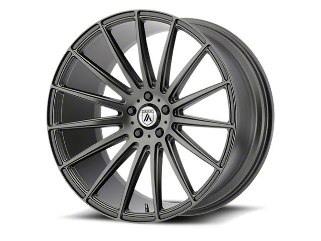 Asanti Polaris Matte Graphite Wheel; 20x10.5; Rear Only (08-21 All, Excluding AWD & Demon)