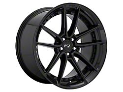 Niche DFS Gloss Black Wheel; Rear Only; 20x10.5 (11-21 All, Excluding AWD)