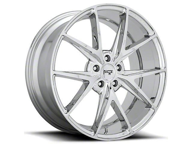 Niche Misano Chrome Wheel; 20x9 (08-21 All, Excluding AWD)