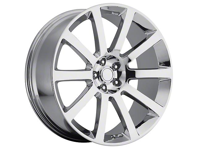 PR146 Chrome Wheel; 20x9 (08-21 All, Excluding AWD, Demon & Hellcat)