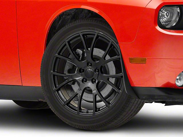 PR161 Gloss Black Wheel; 20x9 (08-21 All, Excluding AWD, Demon & Hellcat)