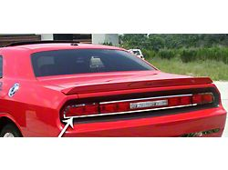 Tail Light Trim Ring; Outer; Polished (08-14 All)